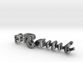 Twine Rami/Sami in Fine Detail Polished Silver