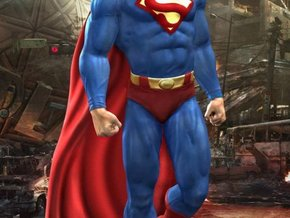 Superman in White Strong & Flexible