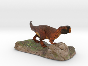 Psittacosaurus sculpture in Full Color Sandstone