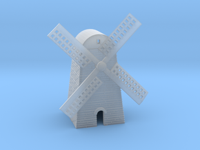 Windmill in Smooth Fine Detail Plastic