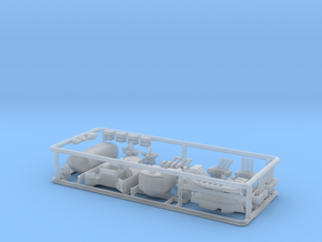 HMS Torquay Upgrade kit 2. 1/500 scale. in Smooth Fine Detail Plastic