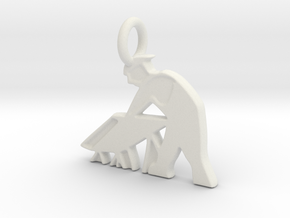 RCS Sawhorse Guy in White Strong & Flexible