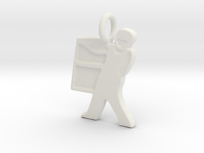 RCS Window Guy in White Natural Versatile Plastic
