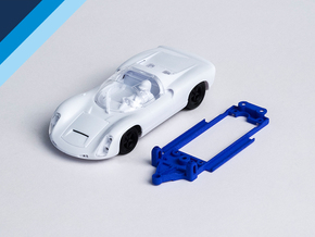 1/32 MRRC Porsche 910 Chassis for Slot.it pod in Blue Processed Versatile Plastic
