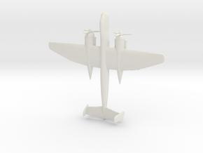 1:285  He-219 in White Natural Versatile Plastic