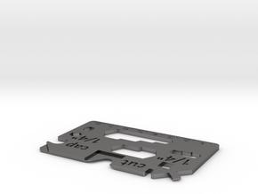 Cardic - universal lightweight pocket tool in Polished Nickel Steel