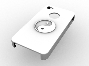IPhone Yin Yang Case in White Strong & Flexible
