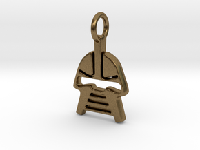 Cylon Charm in Natural Bronze