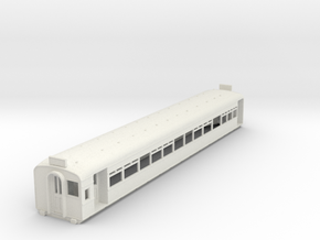 O-87-l-y-bury-third-class-coach in White Natural Versatile Plastic