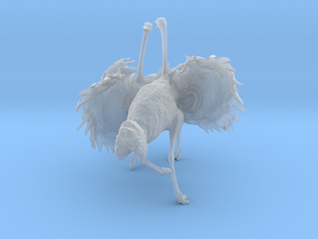 Ostrich 1:16 Fighting Pair in Smooth Fine Detail Plastic