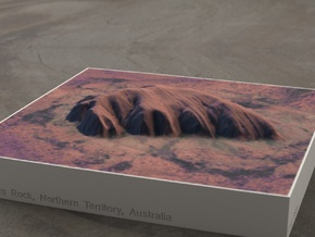 Uluru/Ayers Rock, Australia, 1:25000 Explorer in Full Color Sandstone