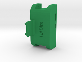 Holder  in Green Processed Versatile Plastic