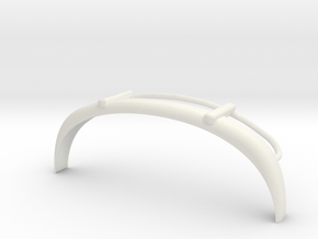 VW T1 Frontbumper in White Natural Versatile Plastic