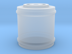 Space 1999 Canister for Dinky Pallet Pod in Smooth Fine Detail Plastic