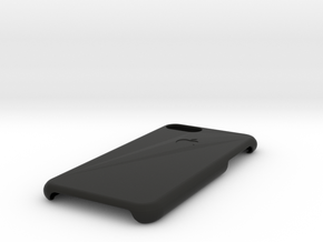 Iphone 7 Case in Black Natural Versatile Plastic