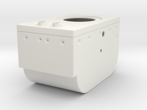 Lunar Module Rotation Control Housing in White Strong & Flexible