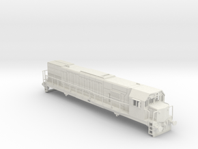 General Electric GT 22 CU Locomotive in White Strong & Flexible