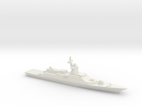 Gremyashchiy-class Corvette, 1/1250 in White Natural Versatile Plastic