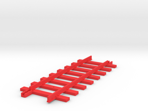 Tri-ang Big Big Train Track 8 Sleepers in Red Strong & Flexible Polished