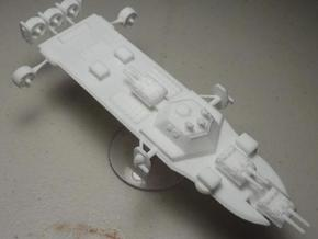 Ether Arsenal Ship in White Natural Versatile Plastic