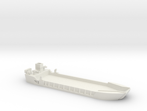 1/285 Scale LCT-5 in White Natural Versatile Plastic