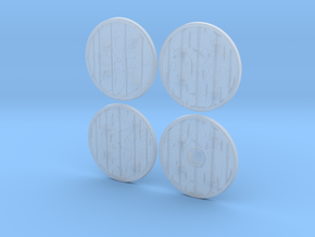 """BotW"" Basic Shields Set in Smooth Fine Detail Plastic: 1:12"