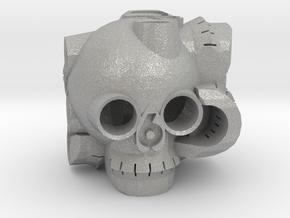 Skull D6 in Aluminum