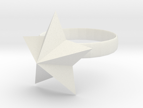 Ring Of Starpower in White Natural Versatile Plastic