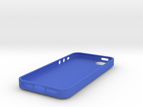 IPhone 5S Skull Case vol.2 in Blue Strong & Flexible Polished
