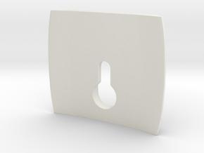 El Camino TG Clip 2 in White Natural Versatile Plastic