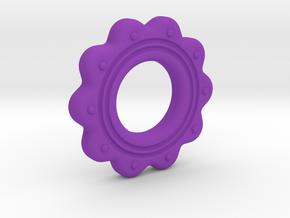 Alvina T01 (repaired) in Purple Processed Versatile Plastic