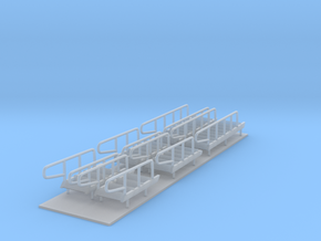1/96 scale Bear/Famous Class - Stairs set in Smooth Fine Detail Plastic