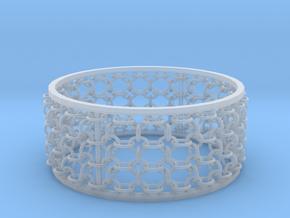 3in Emperor Bracelet in Smooth Fine Detail Plastic