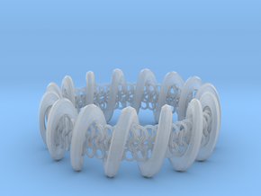 2.6in x .9in Trapped Chain in Smooth Fine Detail Plastic