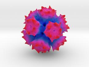 Adenovirus Serotype 2 in Full Color Sandstone