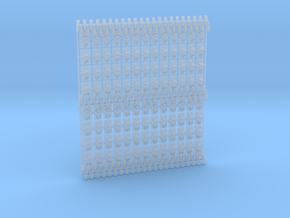 Chairs for two 60ft track panels in Smooth Fine Detail Plastic