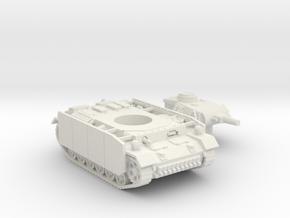 Panzer III tank M (Germany) 1/87 in White Natural Versatile Plastic