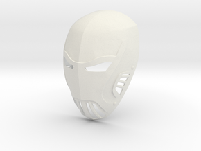Azrael Gotham TV Series Mask  in White Natural Versatile Plastic
