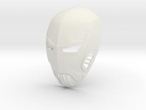 Azrael Gotham TV Series Mask  in White Natural Versatile Plastic