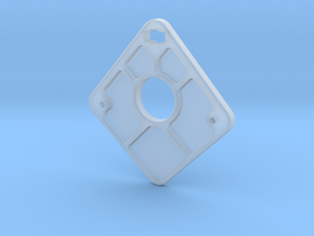 Endplate in Smooth Fine Detail Plastic