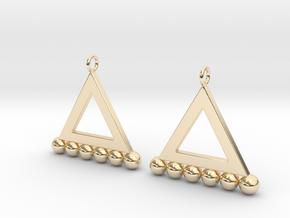 NEO Baumann Earings in 14K Gold