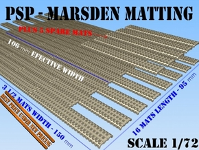1-72 Marsden Matting Section in Smooth Fine Detail Plastic