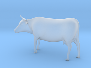 Cow 01. O scale (1:43) in Smooth Fine Detail Plastic