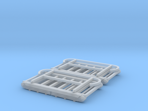 2xLKW Plattform V0.1  in Smooth Fine Detail Plastic