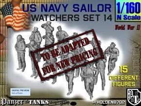 1-160 US Navy Watchers Set14 in Transparent Acrylic
