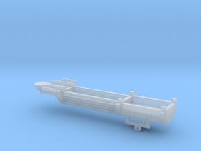 1/87 Scale Bridge Pontoon Trailer in Smooth Fine Detail Plastic