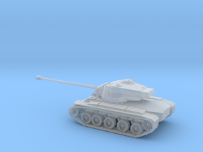 1/87 Scale M26 Pershing Tank in Smooth Fine Detail Plastic