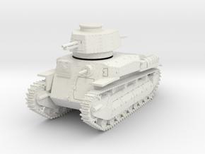 PV24 Type 89B Medium Tank (1/48) in White Natural Versatile Plastic