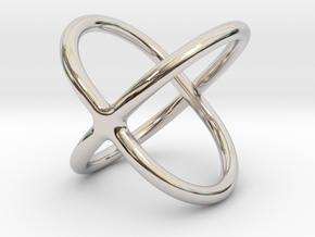 Satellite Ring  in Platinum: 4 / 46.5