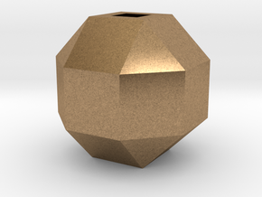 Perfect diamond in Natural Brass